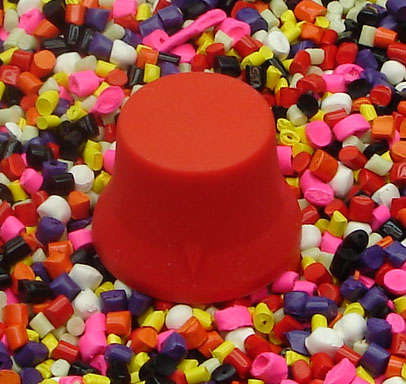 Red Standard Style Guitar Knobs